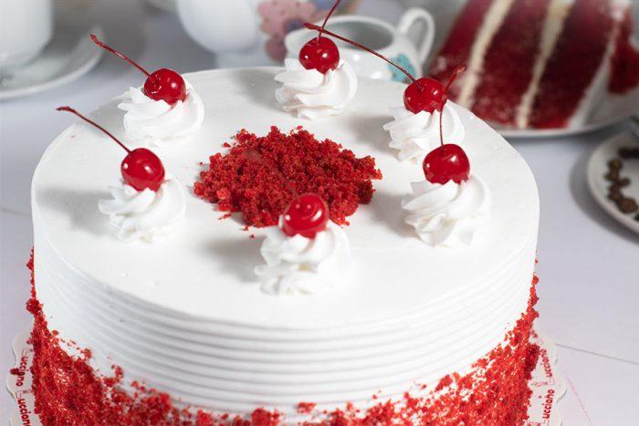 Torta Red Velvet Arequipa