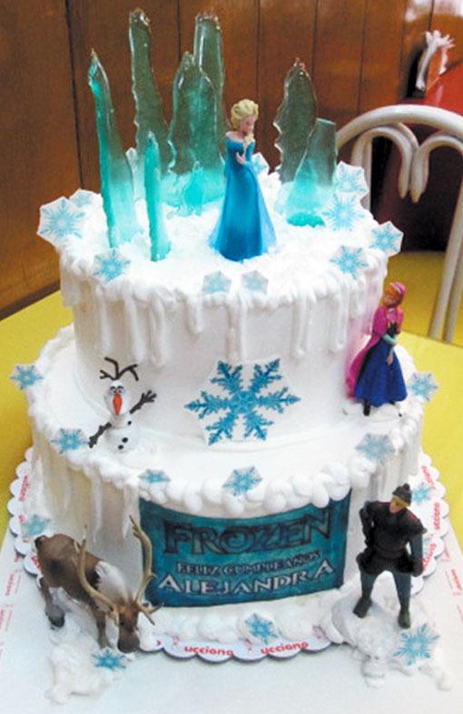 figuritas frozen tortas especiales arequipa frozen