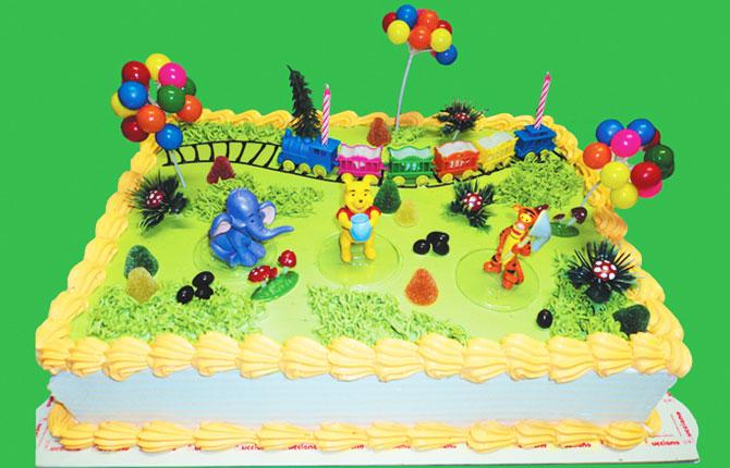 figuritas tortas especiales arequipa Winnie pooh