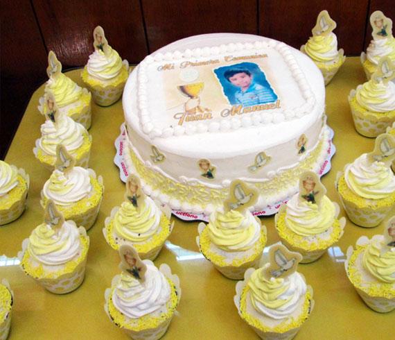 Tortas especiales ceremonias primera comunion niño