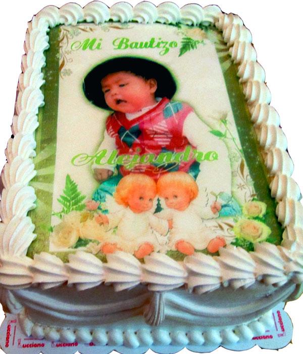 arequipa Tortas especiales ceremonias bautizo niño