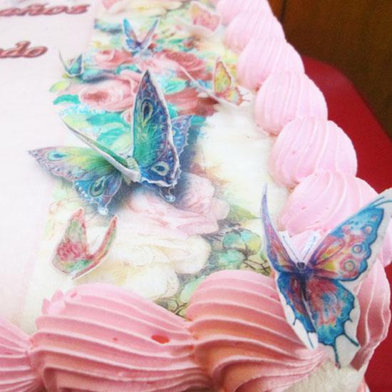 arequipa Tortas especiales ceremonias mariposas