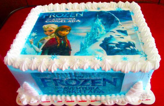 torta especial arequipa para niña foto frozen elsa