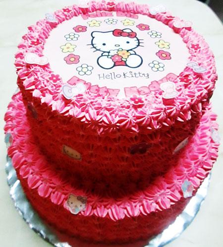 torta especial arequipa para niña foto kitty