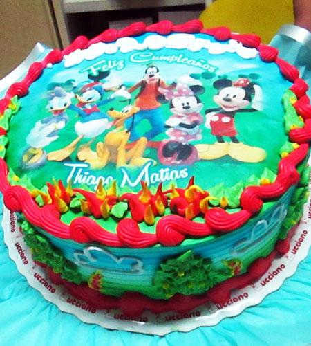torta especial arequipa para niña foto disney