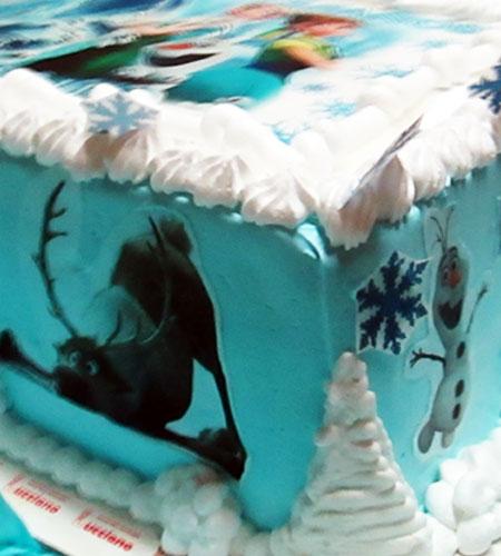 torta especial arequipa para niña foto olaf