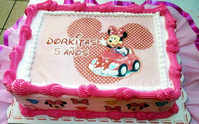 arequipa Foto de personaje en Tortas especiales para niña