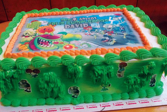 Tortas especiales para niños con fotos personajes