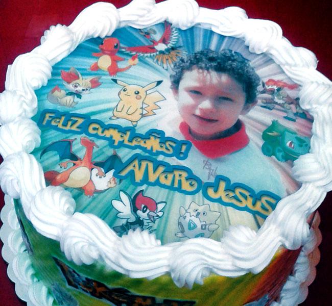 Tortas especiales fotos niños