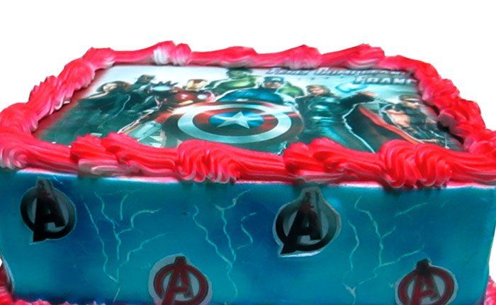 capitan america tortas especiales Arequipa