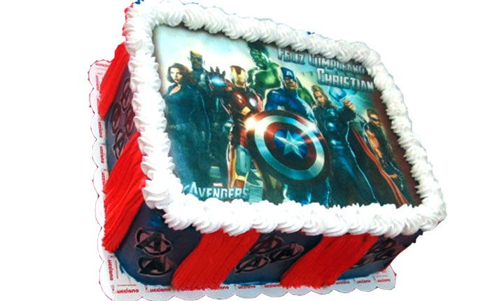 Avengers tortas especiales arequipa