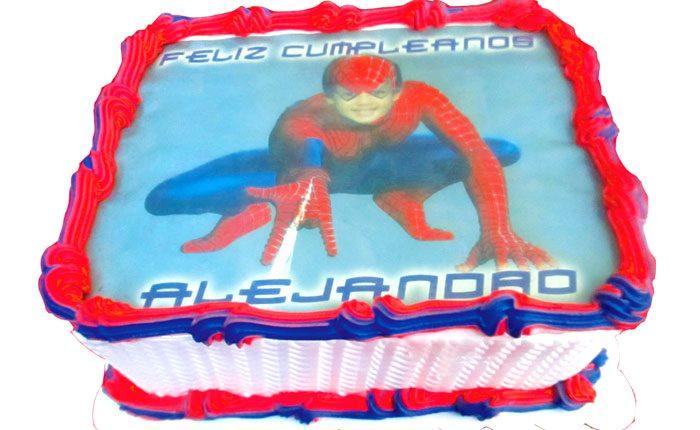 Tortas super heroes spiderman