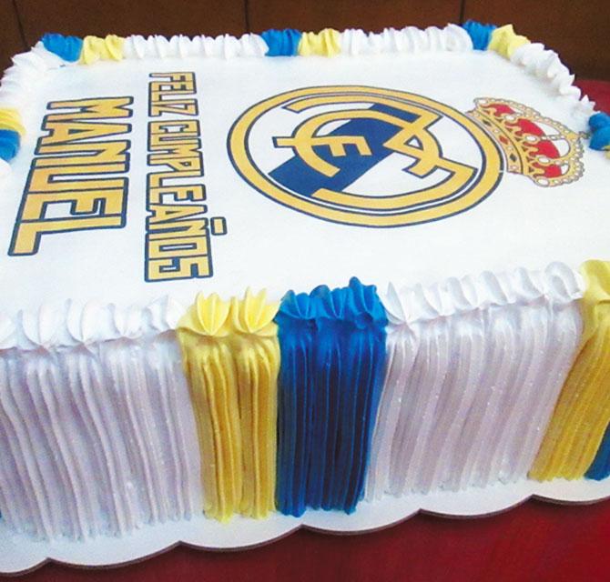 tortas especiales deportes arequipa futbol real madrid