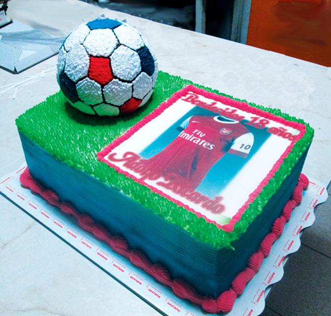 tortas especiales deportes arequipa futbol arsenal