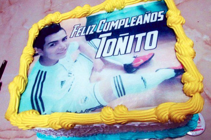 tortas especiales deportes arequipa futbolista