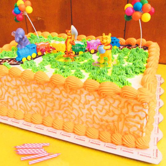 figuritas winnie pooh tortas especiales arequipa