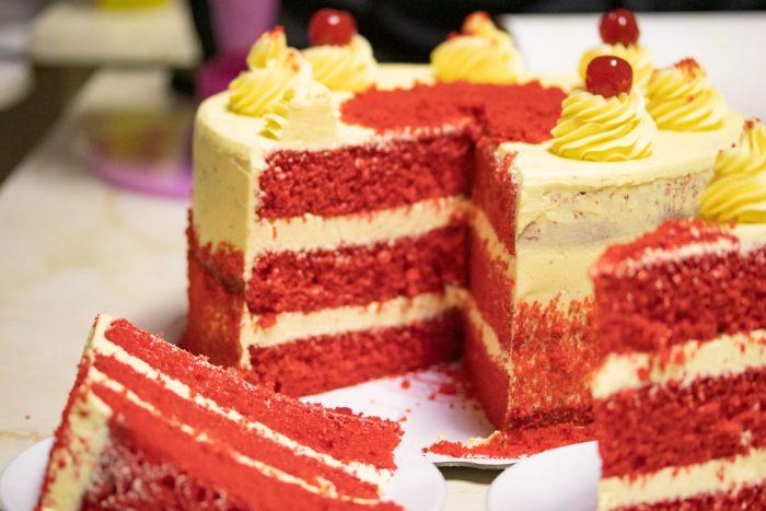Torta Red Velvet  en Arequipa