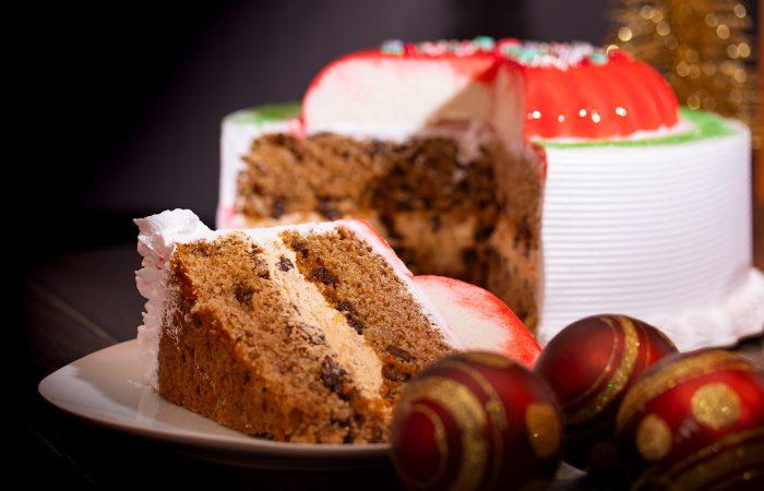 El bizcocho de navidad o de frutos y especies